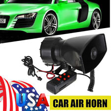 300dB 60W Loud Car Warning Alarm Police Fire Siren Safe Horn PA Speaker System