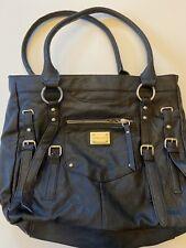 Franco Sarto purse tote bag handbag purse crossbody black large casual