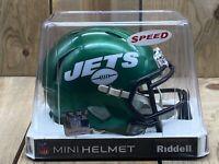 New York Jets Mini Helmet - Unopened Riddell NFL Speed Mini Helmet