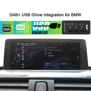Für BMW 2er F22 4er F33 F36 Auto DAB+ Box USB iDrive Integration Externe Radio