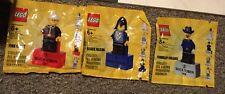 LEGO Exclusive Bricktober Mini Figure Black Falcon Fire Chief Cavalry Colonel