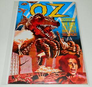 OZ MAGAZINE no.38 R Neville LONDON 1971 comix ROBERT CRUMB higher grade