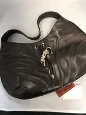 Cartier Limited Edition Panthere De Cartier Brown Leather Handbag