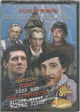 Tales of Horror Gothic Deep Red Hitchhiker Silent night Bloody night DVD new
