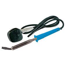 100W Uk Soldering Iron 100W Bent Tip Electronics Repairs Silverline 868784