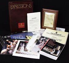 Lladro Expressions  Magazine Collectors Society Back Issues Binder Ephemera COAs
