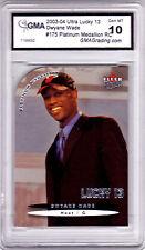 2003-04 Fleer Ultra Dwyane Wade Platinum Medallion /100 Rookie
