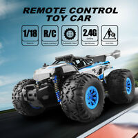 1/18 RC Monster Truck Off-Road Vehicle Car Remote Control Big Foot RTR Toys Gift