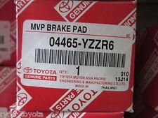 YARIS FRONT BRAKE PADS 8/05 ONWARDS ** GENUINE TOYOTA PARTS **