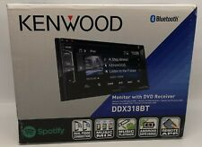 """Kenwood DDX-318BT Car 6.2"""" Monitor DVD-Receiver with Built-in Bluetooth NEW#"""