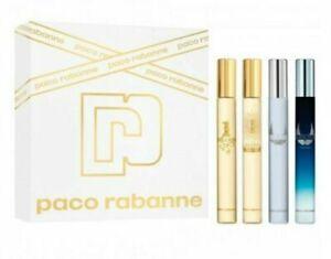 PACO RABANNE GIFT SET 4 X 10ML EDT 1 MILLION INVICTUS LUCKY & INVICTUS LEGEND