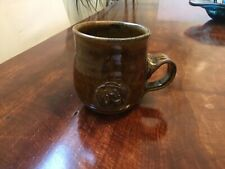 Studio Pottery mug, GORDON, ELORA ONTARIO, Vintage one of a kind