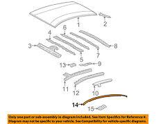 TOYOTA OEM 04-09 Prius-Roof Molding Trim Right 7555547020