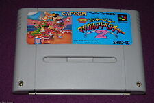 THE GREAT CIRCUS MYSTERY Mickey Minnie - Jeu Plate-Forme Super Famicom SNES JAP