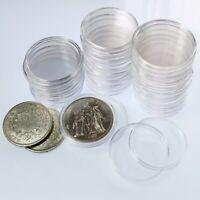 Capsules plastique pour pièces de 10 francs Hercule