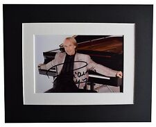 Richard Clayderman Signed Autograph 10x8 photo display Piano Music AFTAL & COA