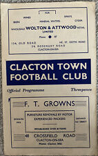 More details for clacton town v bury town