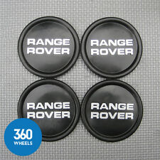 4 NEW GENUINE LAND ROVER RANGE ROVER CLASSIC ALLOY WHEEL CENTRE CAPS NRC8254