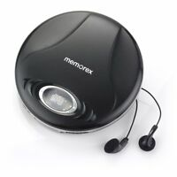 Memorex MD6451BLK Portable CD Player with Anti-Skip (IL/PL2-15000-MD6451BLK-UG)