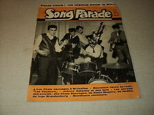 SONG PARADE 37 (12/61) DICK RIVERS CONNY FROBOESS JOHNNY HALLYDAY MILVA VAUTOURS