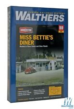 WALTHERS CORNERSTONE HO KIT MISS BETTIES DINER WAL9332909