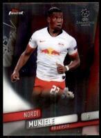 2019-20 Topps Finest UEFA Base #5 Nordi Mukiele - RB Leipzig
