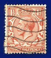 1924 SG420 1½d Red-Brown N35(1) Good Used axls