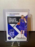 2019-20 Chronicles Basketball Base Luka Doncic Dallas Mavericks NBA Card #15