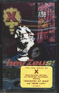 X  -  Hey Zeus  -  New Sealed Big Life Cassette