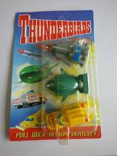 THUNDERBIRD 1, 2 & 4 PULL BACK ACTION VEHICLES MATCHBOX