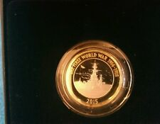 2015 Two Pound Silver Proof Coin 100th Anniversary of WW1' The Royal Navy '