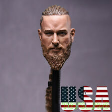 "1/6 Viking Captain Head Sculpt For 12"" Headplay Hot Toys Male Figure ❶USA❶"