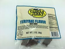 Climax BEST Premium Beef Teriyaky 2 OZ. Beef Jerky - 30 Pack