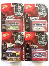 Awesome johnny lightning Universal Studio Monsters set of 4