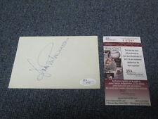 Joan Fontaine (d.2013)  index card JSA Cert