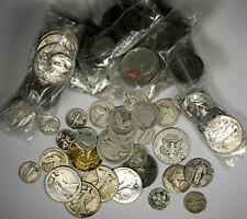 $5 FACE VALUE 90% SILVER LOTS ~ UGLY SLICK SILVER ~ DIMES QUARTERS HALF DOLLARS
