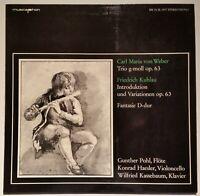 von Weber Kuhlau Gunther Pohl Haesler Kassebaum Musicaphon BM 30 SL 1917 Stereo