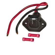 Marpac 7-1304 Male Boat Side Connector 8 Gauge 12 Volt 2 Wires Trolling Motor