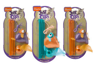 Hartz At Play Cat Toy, Gone Fishin', Color May Vary (Set of 3)
