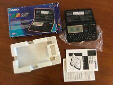 Casio Color Color Lcd Digital Diario Organizador jefe Raro en Caja CSF-4950 128KB