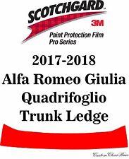 3M Scotchgard Paint Protection Film Pro 2017 2018 Alfa Romeo Giulia Quadrifoglio