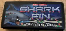 Shark Fin 22g Steel Tip Darts Tungsten 17201 w/ FREE Shipping & Case