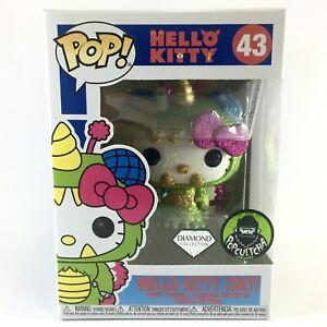 HELLO KITTY (SKY) * DIAMOND COLLECTION * Funko Pop Vinyl Glitter Sparkle #43