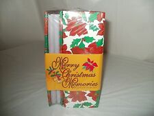"2 - New Christmas Photo Album Hold 200 Pictures Size 3 1/2"" x 5 1/4"" - 4"" x 6"""