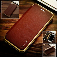 For iPhone Xs Max Xs Xr X 8 7 6 Plus Magnetic Flip Leather Wallet Case Cover New