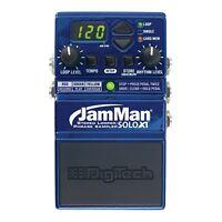 Digitech JMSXT JamMan Solo XT Stereo Looper Phrase Sampler Pedal w/ Power Supply