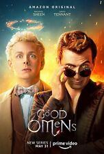 Good Omens poster (e)  - 11 x 17 inches - Michael Sheen, David Tennant