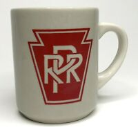Vintage Pennsylvania Railroad PRR Collectable Coffee Mug Diner / Restaurant Ware
