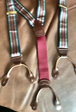 NEW Barrons-Hunter Silk Suspenders—Made In England