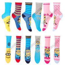Chaussettes et collants multicolore en polyester pour fille de 2 à 16 ans